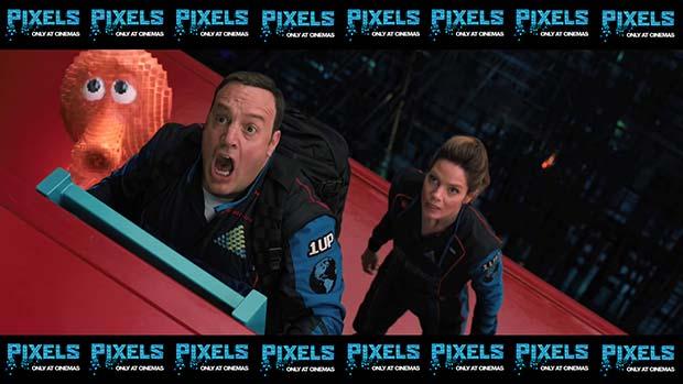 Pixels (2015): Movie still shot wallpapers