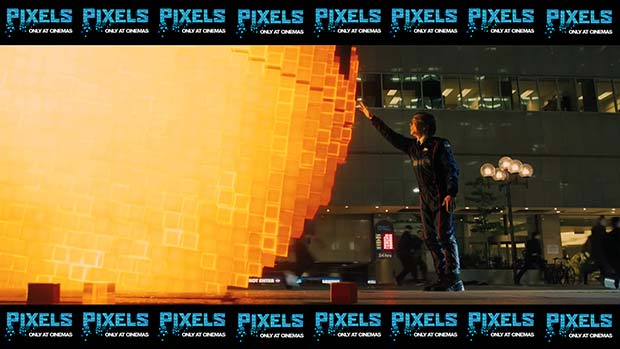 Pixels (2015): Movie still shot wallpapers. Pacman and its creator