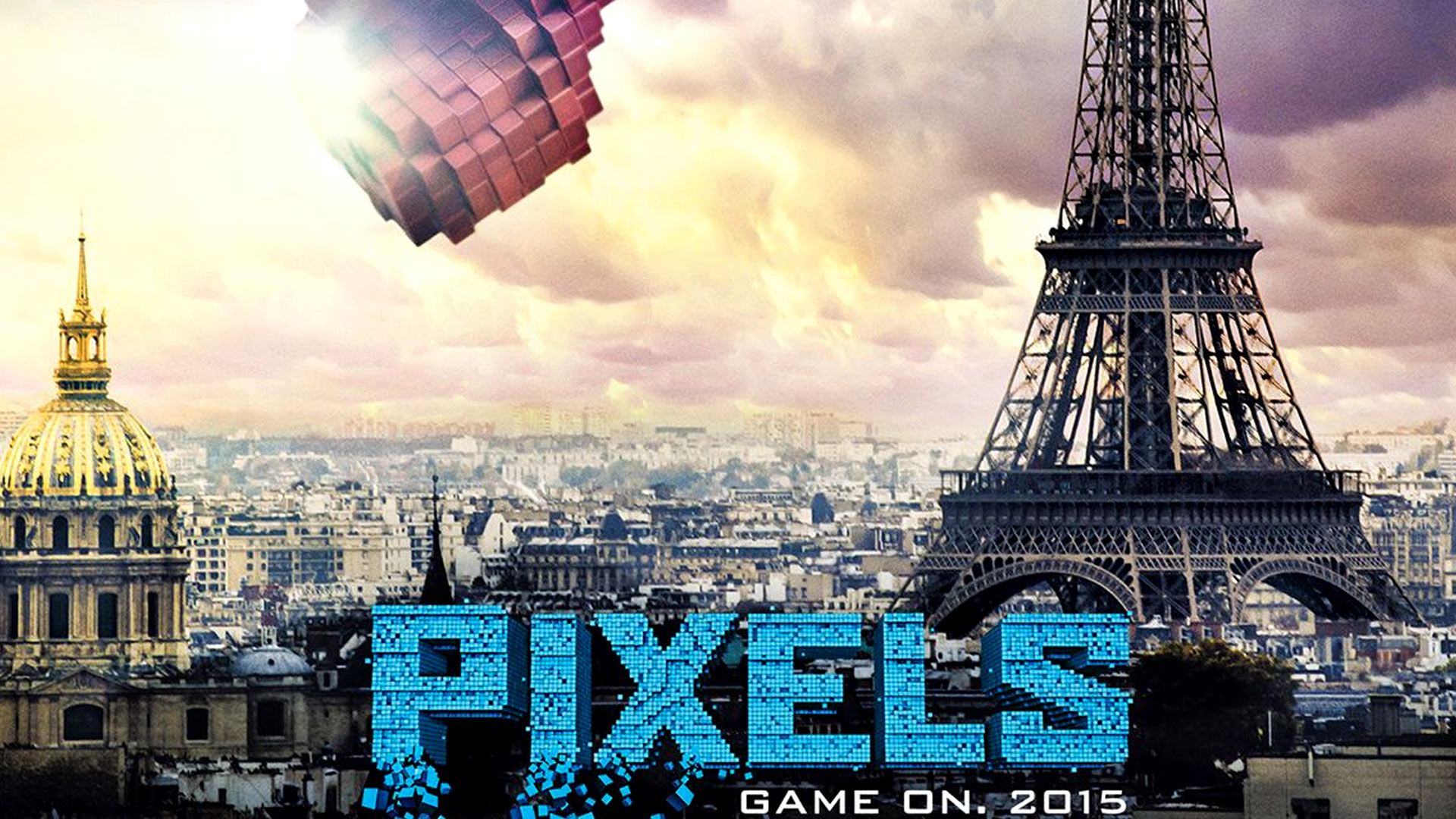 Pixels (2015): Movie HD Wallpapers u0026 HD Still Shots  Volganga