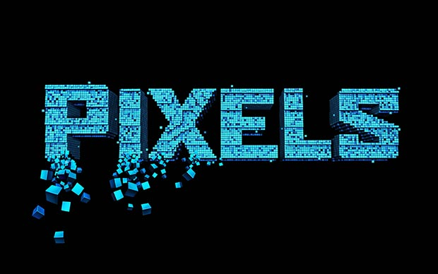 Pixels Movie HD wallpaper. Pixels 2015