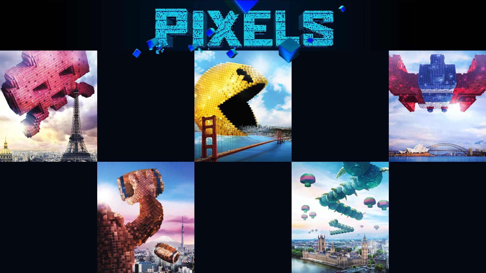 Pixels 2015 Movie Hd Wallpapers Hd Still Shots Volganga