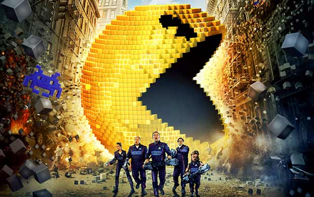 Pixels Movie HD wallpapers. Pixels 2015