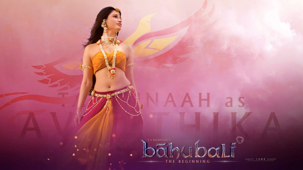 Tamannaah as Avanthika. Bahubali hd wallpapers