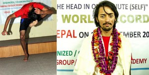 Nepali teen kicks his head 134 times to enter Guiness World Records Book