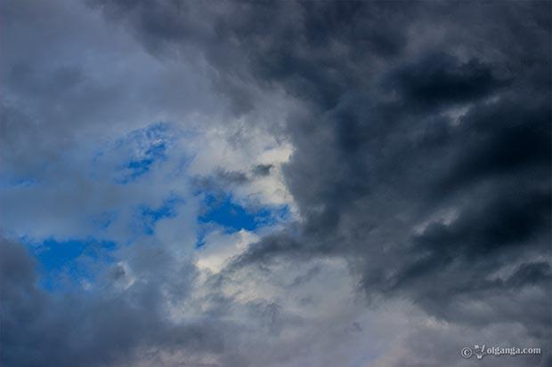 Getting grumpy sky