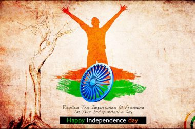 Importance of Freedom. 70th Independence Day of India