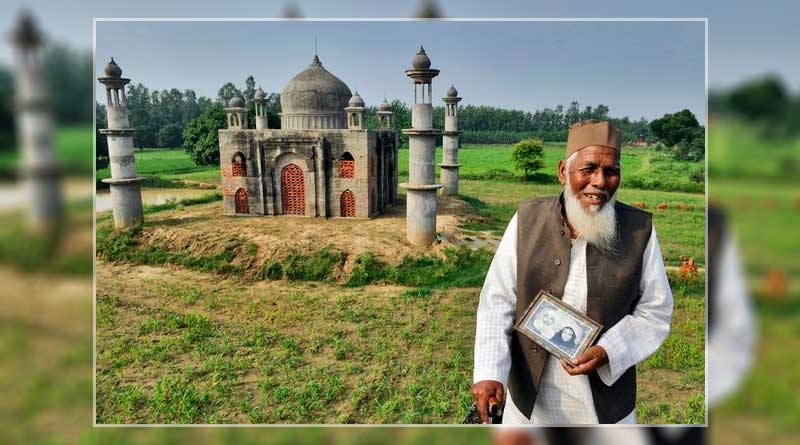80-year-old Indian villager builds a replica of Taj Mahal in his garden