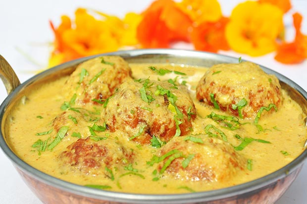 Indian specialties. Malai kofta