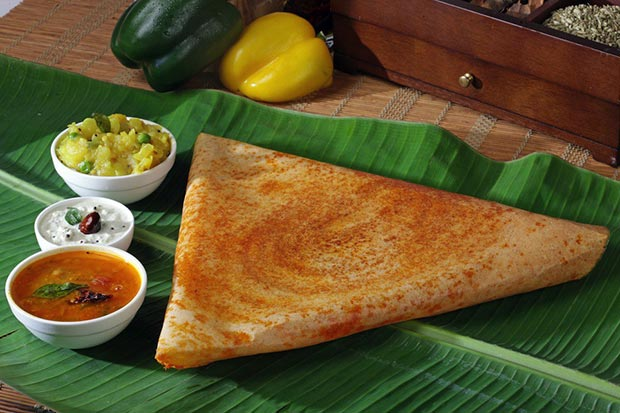 Indian specialties. Masala dosa