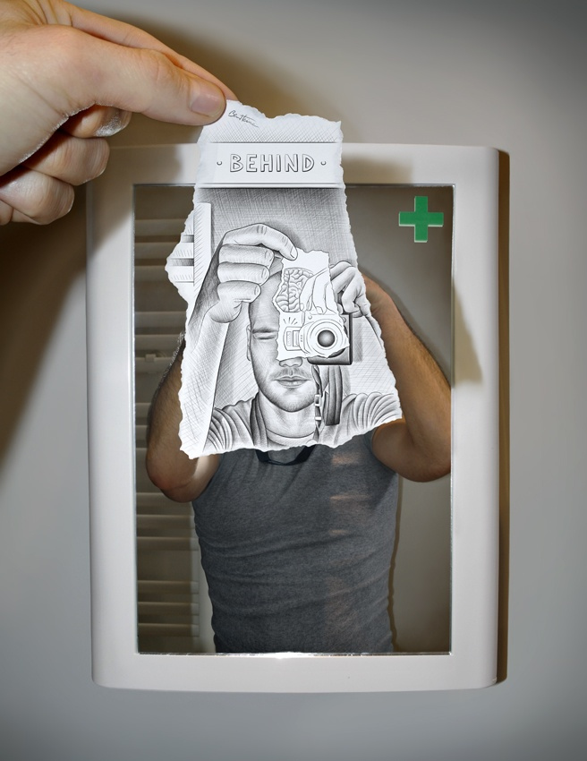 Draw yourself selfie