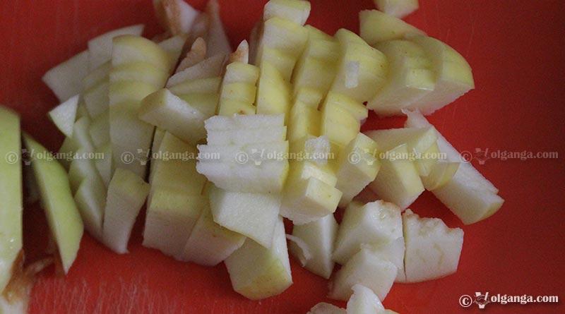 cinnamon apple pie: step2