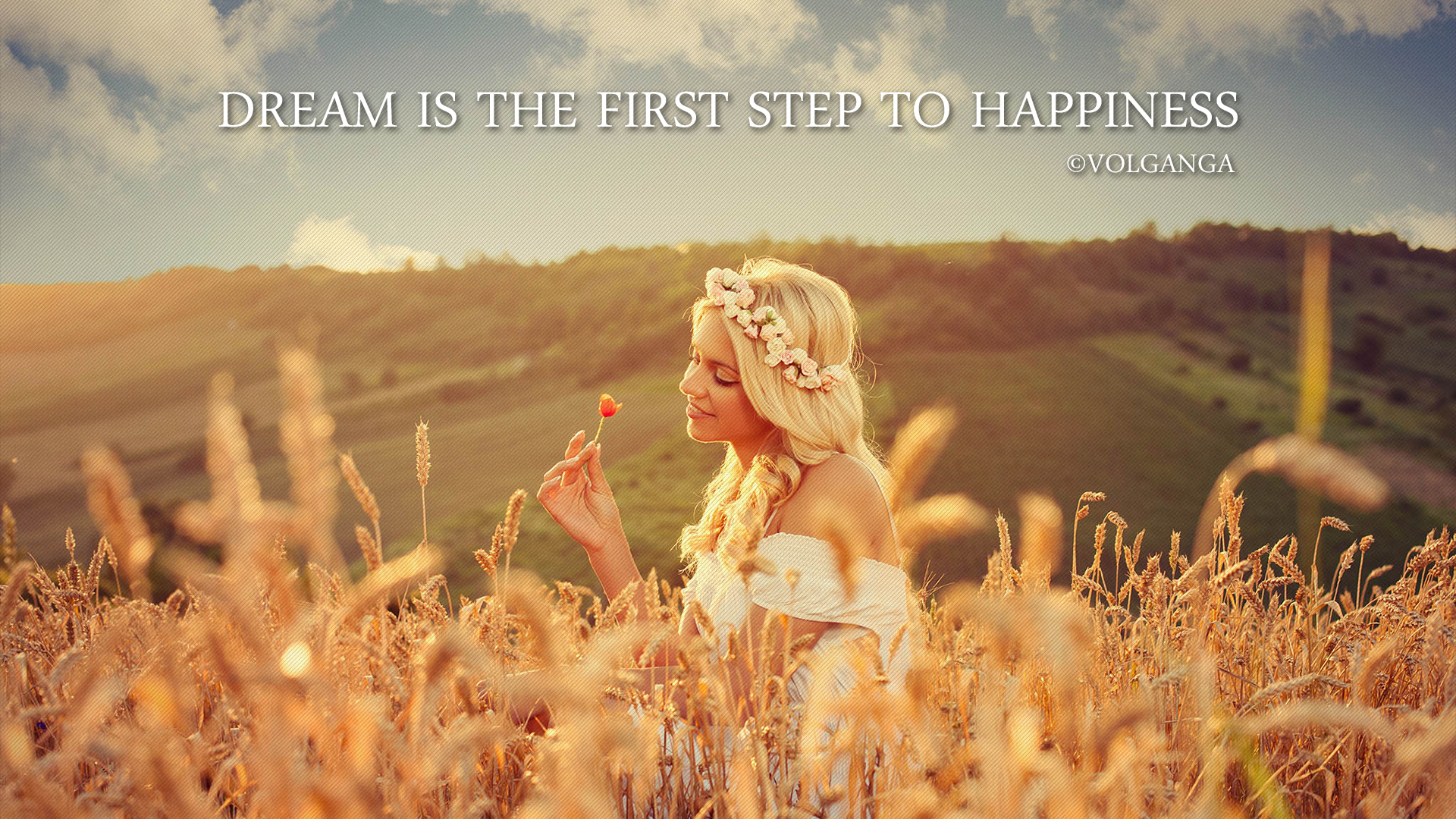 Dreams Quotes In Hd Wallpapers Dream Is The First Step To Happiness CVolGanga