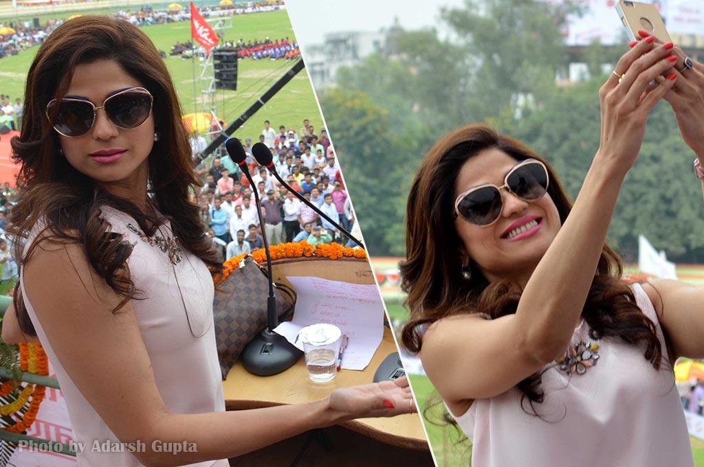 Shamita Shetty at IGCL inauguration ceremony in Kashi