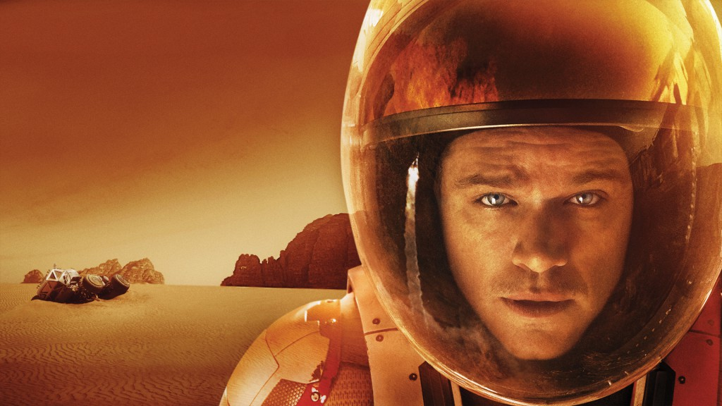 Matt Damon as Mark Watney in The Martian: wallpaper