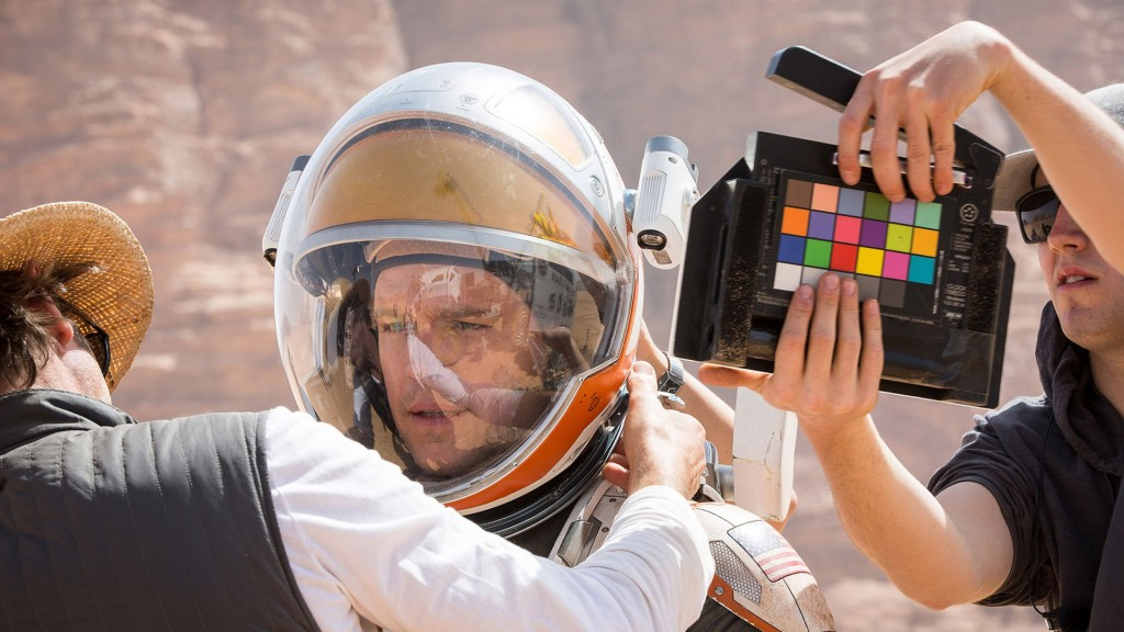 The Martian from behind the camera