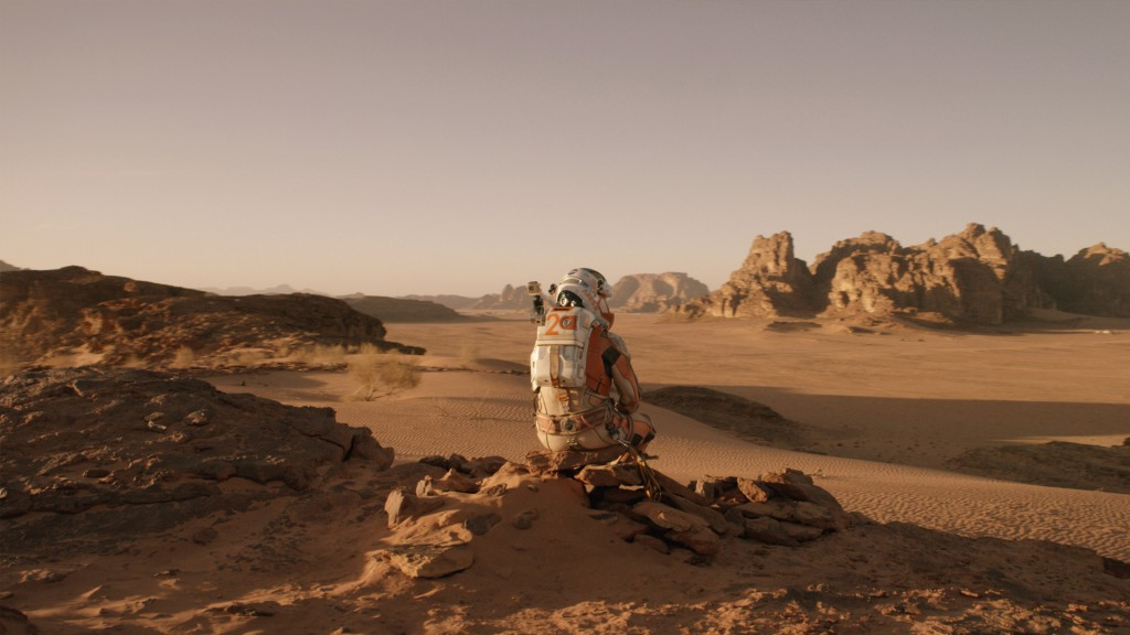 Matt Damon as The Martian: HD wallpapers