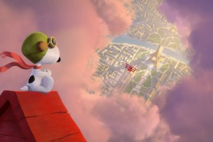 Snoopy in The Peanuts Movie. HD wallpaper