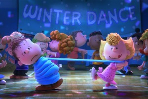 Dancing Sally. The Peanuts Movie