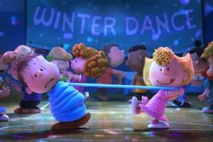 Dancing Sally. The Peanuts Movie
