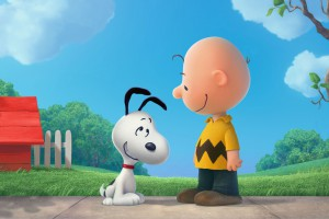 Charlie Brown and Snoopy. The Peanuts Movie wallpaper