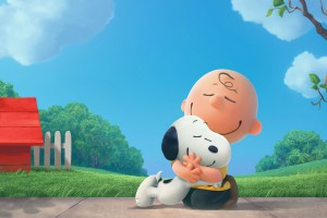 Charlie Brown and Snoopy. The Peanuts Movie HD wallpaper