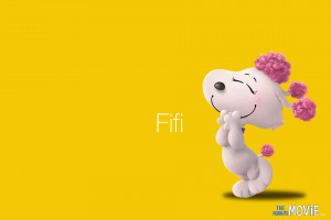 The Peanuts Movie HD wallpaper: Fifi