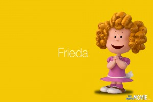 The Peanuts Movie wallpaper: Frieda