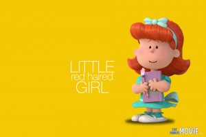 The Peanuts Movie (2015): Little Red Haired Girl