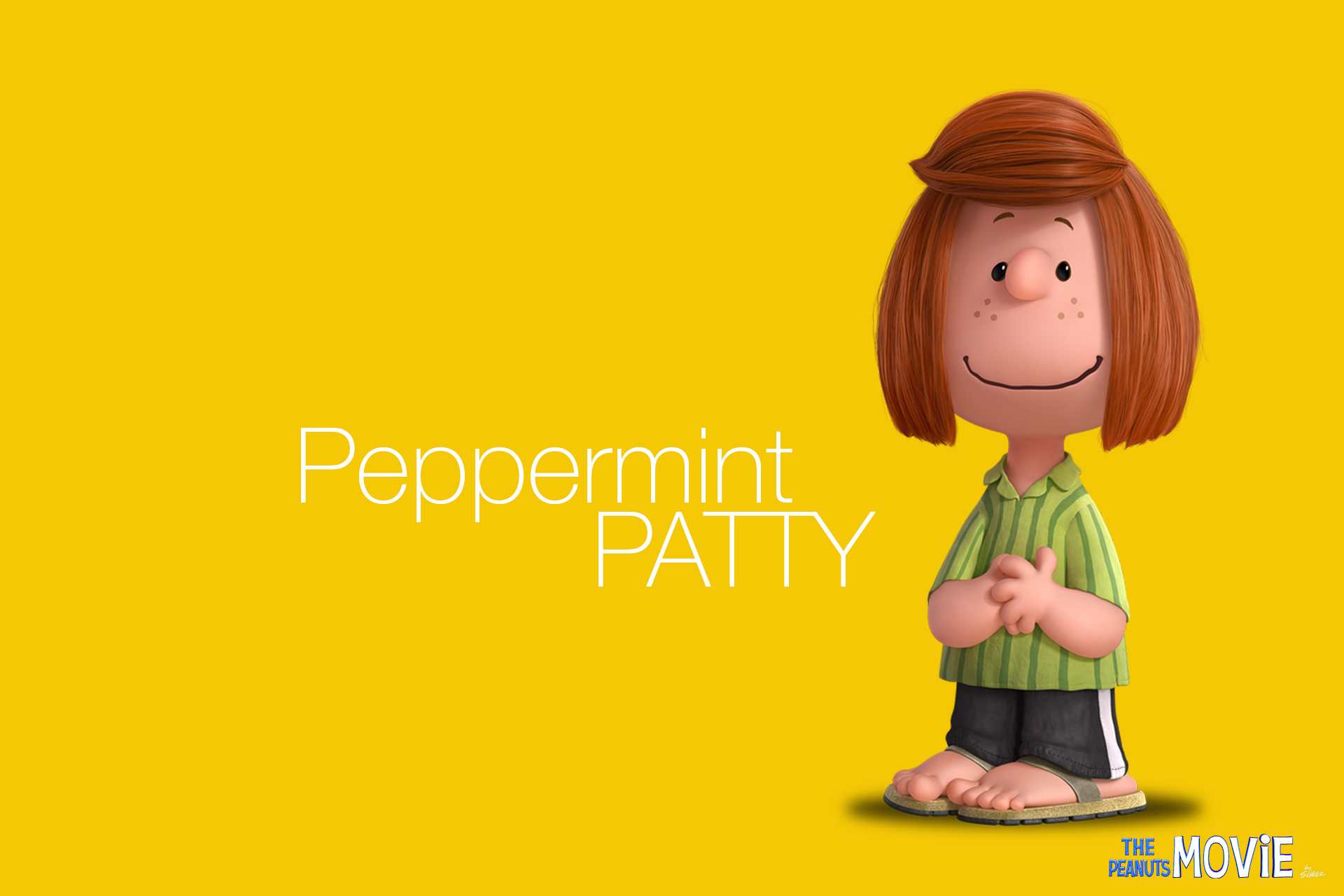The Peanuts Movie: Peppermint Patty   VolGanga
