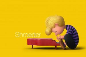Shroeder wallpaper from The Peanuts Movie