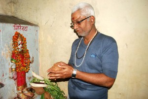 Devotees from the Holy city ask Demoness Trijata for prosperity and longevity of theirs and their families