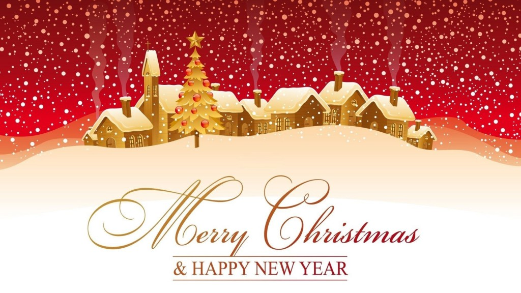 Merry Christmas card 2016