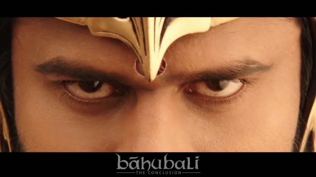 Bahubali 2. His eyes. Still shot