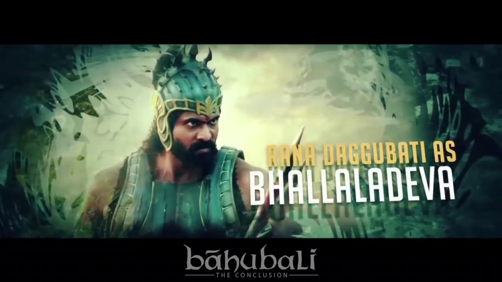 Bhallala Deva from Bahubali 2 The Conclusion