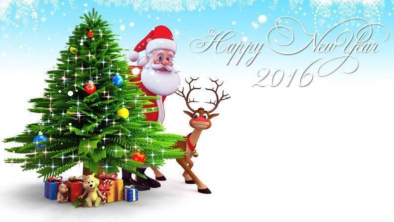 New Year Santa 2016
