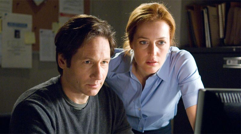 Fox Mulder and Dana Scully in The X-Files 2016