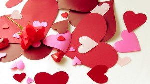 Valentine's Day Cards HD wallpaper