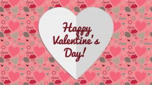 Happy Valentine's Day HD card