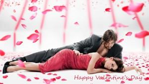 Couple on Valentine's Day