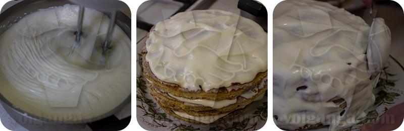 """Cake """"Madonna"""". Step 7"""