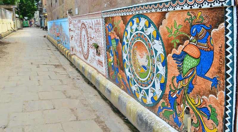 By-lane street art to boost patriotism in Kashi