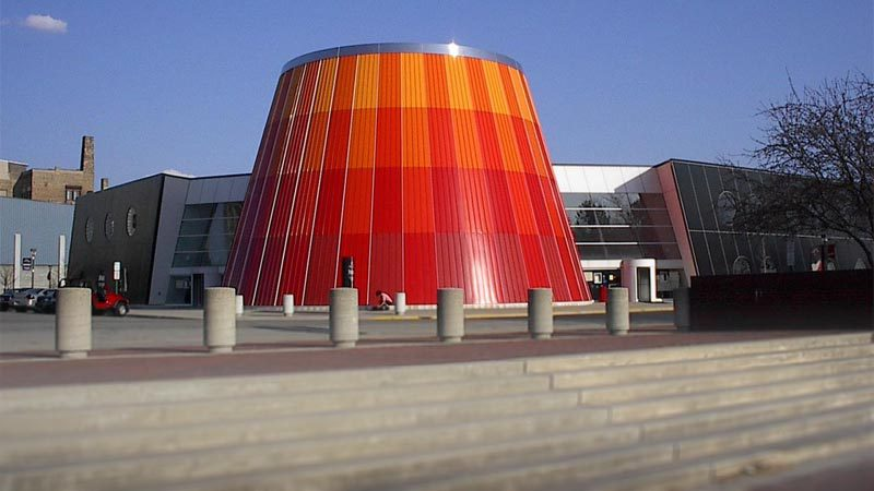 Delta College Planetarium in Bay City, USA