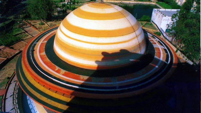 Indira Gandhi Planetarium in Lucknow, India