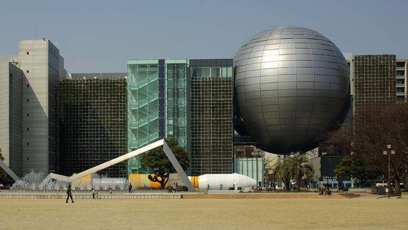 Nagoya City Science Museum with planetarium, Japan