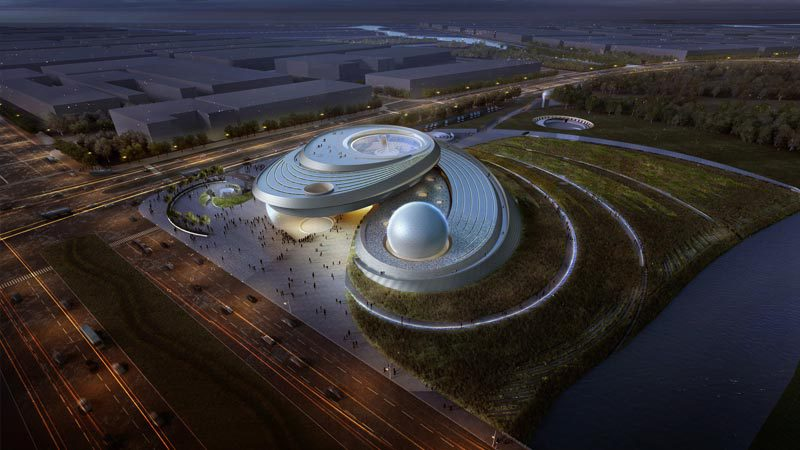 Shanghai Planetarium, China