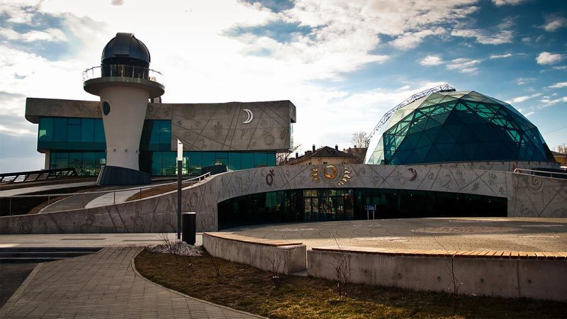 Yaroslavl PLanetarium named after V. V. Tereshkova, Russia
