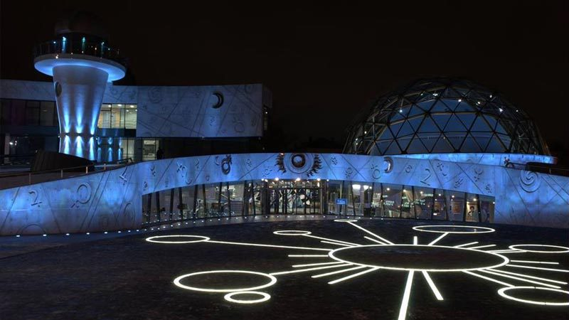 Planetarium in Yaroslavl, Russia
