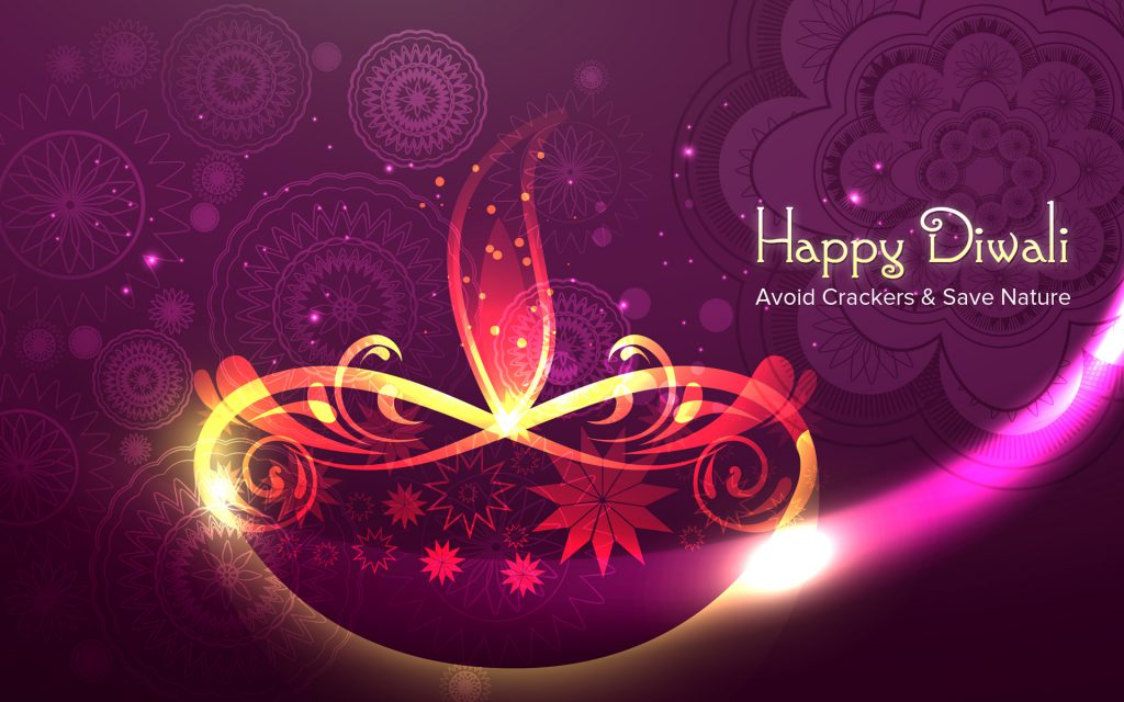 Happy Diwali beautiful wallpaper 2016