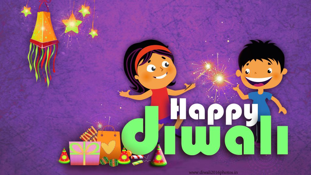 Kids celebrating Diwali 2016. HD wallpaper
