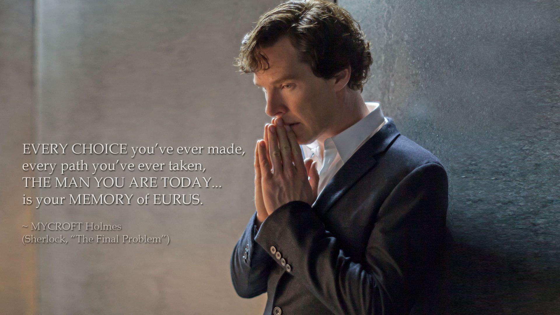 "Sherlock ""The Final Problem"": Best Quotes | Volganga"